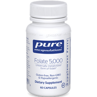 Pure Encapsulations Folate 5,000 60 caps