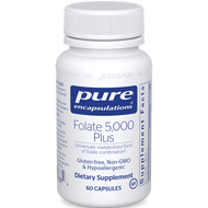 Pure Encapsulations Folate 5,000 Plus 60 caps