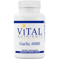 Vital Nutrients Garlic 6000 650 mg 60 caps