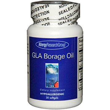 Allergy Research Group GLA Borage Oil 1300 mg 30 gels