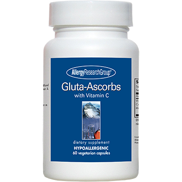 Allergy Research Group Gluta-Ascorbs 60 caps
