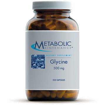 Metabolic Maintenance Glycine 500 mg 250 caps