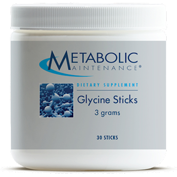 Metabolic Maintenance Glycine Sticks [3 grams] 30 sticks