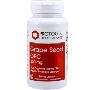 Grape Seed OPC 250 mg 90 vcaps