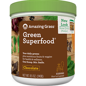 Green SuperFood Chocolate 100 servings Amazing Grass