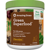 Amazing Grass Green SuperFood Chocolate 28 oz