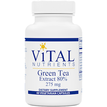 Vital Nutrients Green Tea Extract 275 mg 60 caps