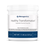 Metagenics Healthy Transformation Vegetable Soup Protein Powder 10 servings