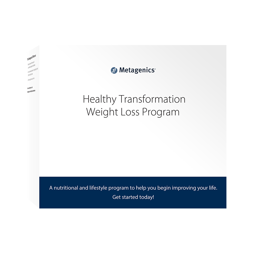 Metagenics Healthy Transformation Weight Loss Program with Vanilla Shake Soup Peanut Butter Bar