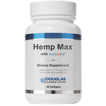 Hemp Max 30 softgels Douglas Labs