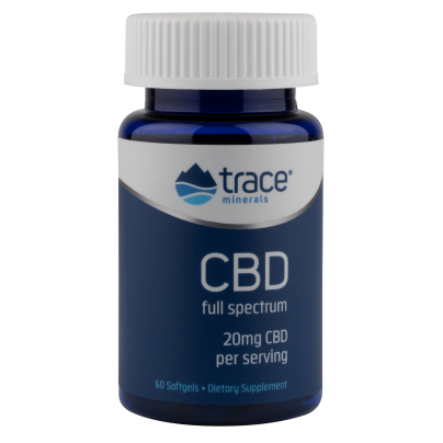 Trace Minerals Research Hemp Oil 20mg 60sg