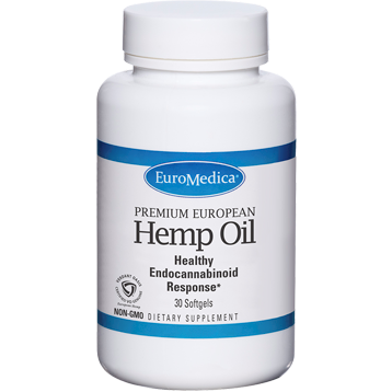 Euromedica  Hemp Oil 30 softgels