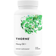Thorne Research Hemp Oil + 30 gelcaps