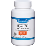 Euromedica Hemp Oil + Curcumin 30 softgels