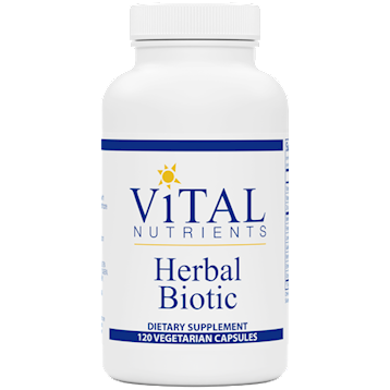 Vital Nutrients Herbal Biotic 120 caps