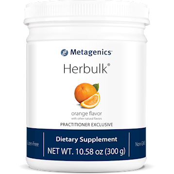 Herbulk Powder Natural Orange - 30 servings Metagenics