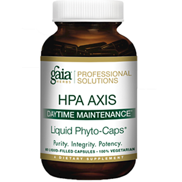 HPA Axis Daytime Maintenance 60 lvcaps Gaia Herbs Professional
