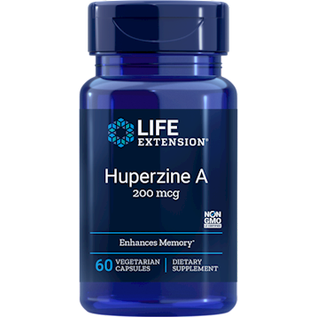 Huperzine A 60 vcaps Life Extension