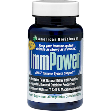 ImmPower AHCC 30 vcaps American BioSciences