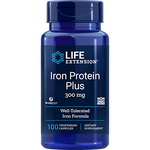 Iron Protein Plus 300 mg 100 caps Life Extension