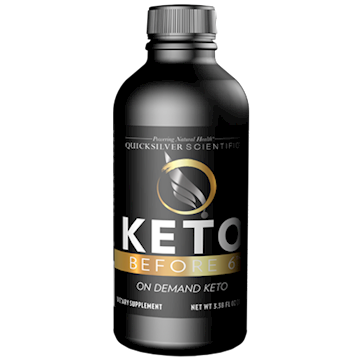 Keto Before 6 100 ml Quicksilver Scientific