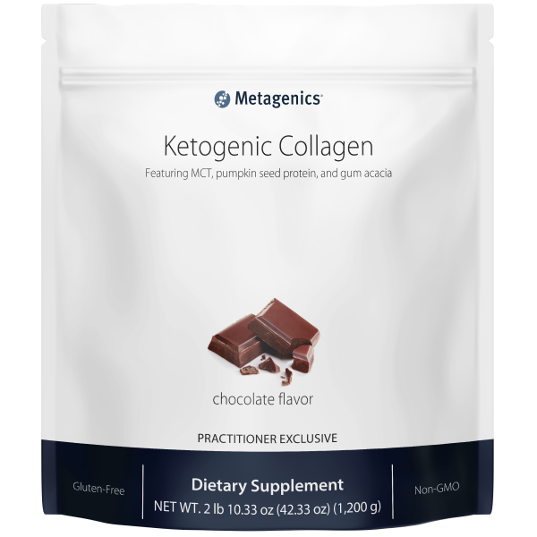 Metagenics Ketogenic Collagen Shake Chocolate - 30 servings