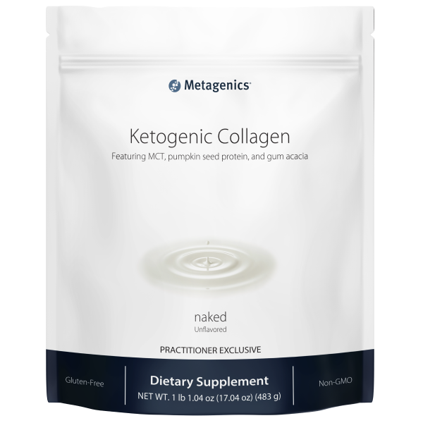 Metagenics Ketogenic Collagen Shake Naked - 14 servings