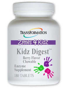 Kidz Digest Chewable 180 tabs Transformation Enzyme