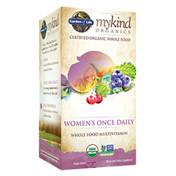KIND Organics Womens Once Daily 30 tabs