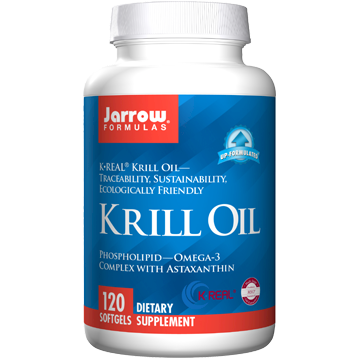 Krill Oil 120 softgels Jarrow Formulas