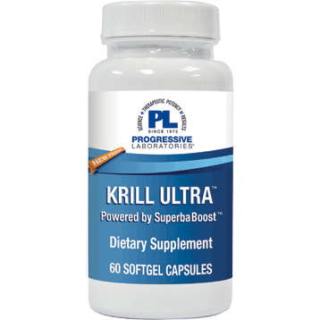 Krill Ultra 60 softgels Progressive Labs