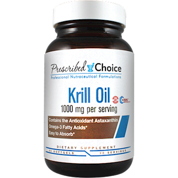 Prescribed Choice Krill Oil 1000mg 60 softgels