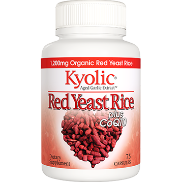 Wakunaga Kyolic Red Yeast Rice plus CoQ10 75 caps