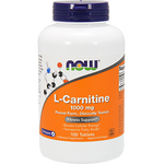 Now Foods L-Carnitine 1000 mg 100 tabs