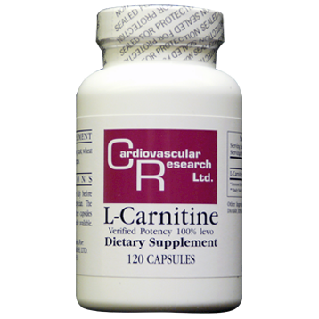 Ecological Formulas L-Carnitine 250 mg 120 caps