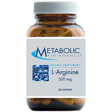 Metabolic Maintenance L-Arginine 500 mg 100 caps