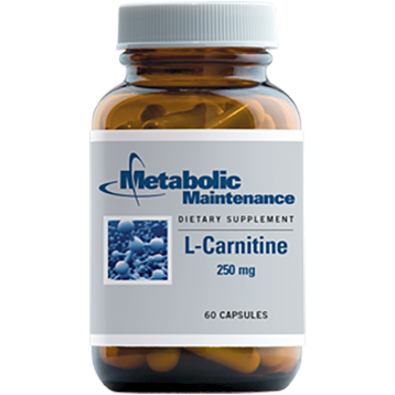 Metabolic Maintenance L-Carnitine 250 mg 60 caps