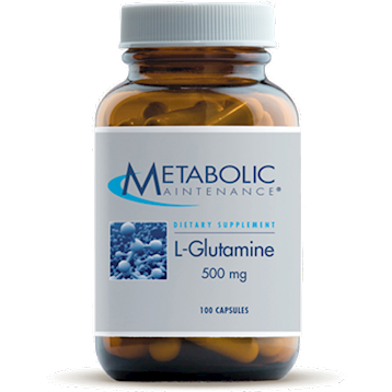 Metabolic Maintenance L-Glutamine 500 mg 100 vcaps