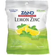 Lemon Zinc Herbalozenge 12 bags Zand Herbal