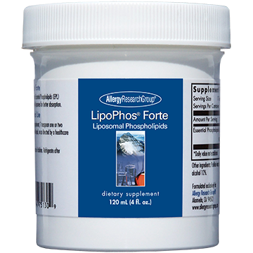Allergy Research Group LipoPhos Forte 4 oz