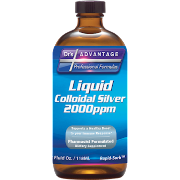 Dr's Advantage Liquid Colloidal Silver 2000 ppm 2 fl oz
