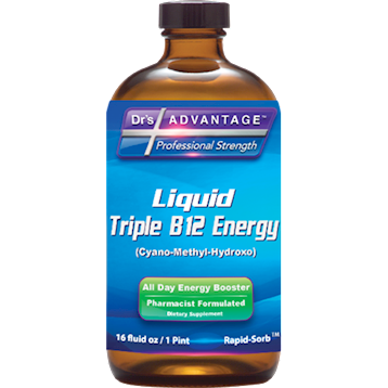 Dr's Advantage Liquid Triple B12 Energy 16 fl oz