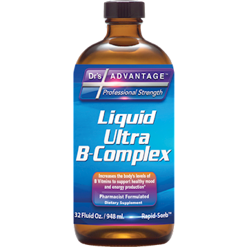 Dr's Advantage Liquid Ultra B-Complex 32 fl oz