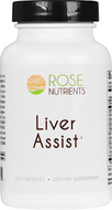 Liver Assist - 120 caps Rose Nutrients