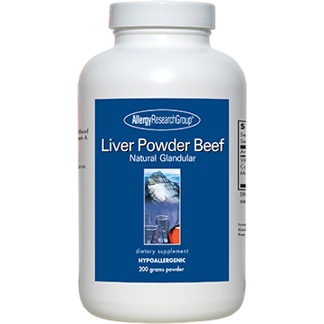 Allergy Research Group Liver Powder Beef 200 g