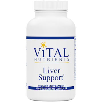 Vital Nutrients Liver Support 120 caps