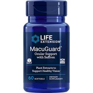 MacuGuard Ocular Support 60 softgels Life Extension