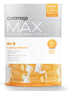 Max Super High Omega-3 Citrus 60 shots