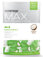 Max Super High Omega-3 Coconut 60 shots Coromega