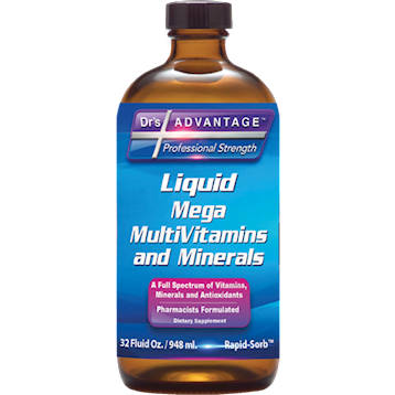 Drs Advantage Mega MultiVitamins & Minerals 32 fl oz
